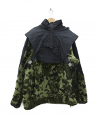 NIKELAB(ナイキラボ)の古着「Hooded Jacket x MMW」 カーキ