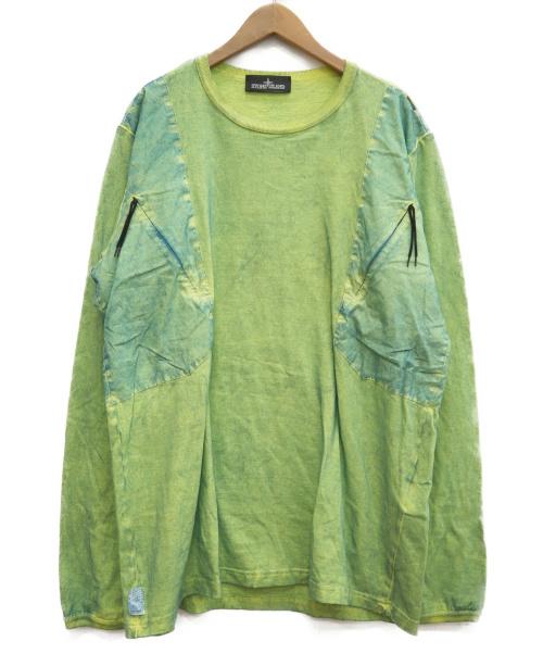 STONE ISLAND SHADOW PROJECT(ストーンアイランド シャドウプロジェクト)STONE ISLAND Shadow Project (ストーンアイランド シャドウプロジェクト) ロングスリーブカットソー イエロー サイズ:L 651920305の古着・服飾アイテム