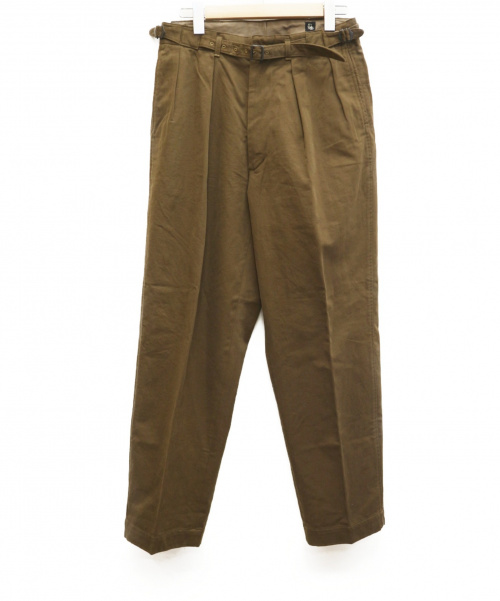 KAPTAIN SUNSHINE(キャプテンサンシャイン)KAPTAIN SUNSHINE (キャプテン サンシャイン) グルカトラウザーズパンツ ブラウン サイズ:W30 KS20FPT10 Gurkha Trousersの古着・服飾アイテム