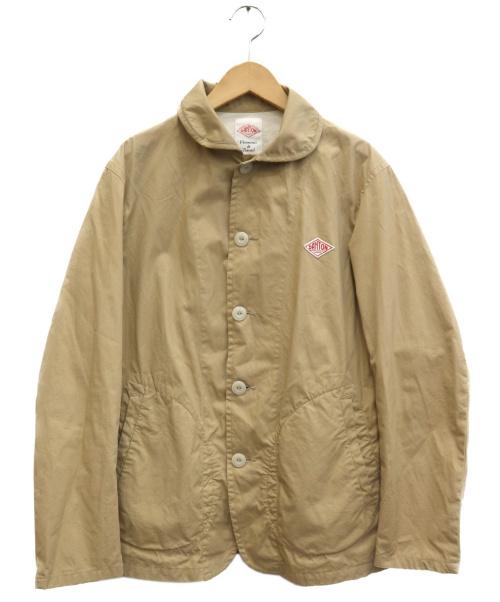 DANTON(ダントン)DANTON (ダントン) カバーオール ベージュ サイズ:38 JD-8715 DUKの古着・服飾アイテム