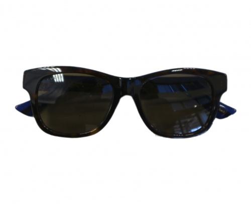 GUCCI(グッチ)GUCCI (グッチ) サングラス ブラウン サイズ:53□18-150 GG0044SA 003の古着・服飾アイテム
