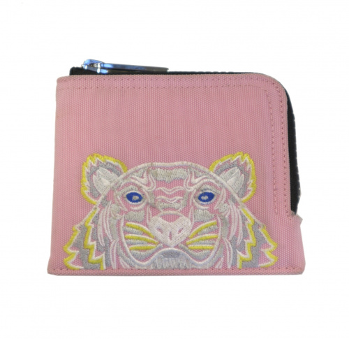 KENZO(ケンゾー)KENZO (ケンゾー) ジップドタイガーウォレット ピンク Zipped Tiger wallet F855PM303F20の古着・服飾アイテム