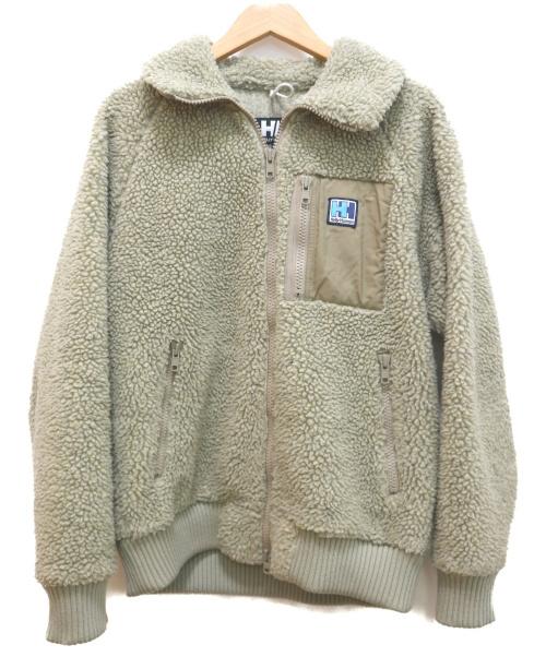 HELLY HANSEN(ヘリー ハンセン)HELLY HANSEN (ヘリーハンセン) フリースジャケット ベージュ サイズ:M  HO51853の古着・服飾アイテム