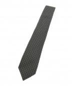 GUCCI(グッチ)の古着「GG柄ネクタイ」|ブラック×ホワイト