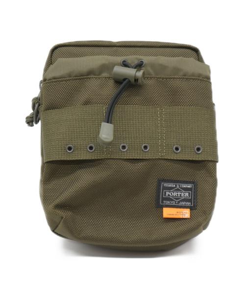 PORTER×MADNESS(ポーターxマッドネス)PORTER×MADNESS (ポーターxマッドネス) sling bag カーキの古着・服飾アイテム