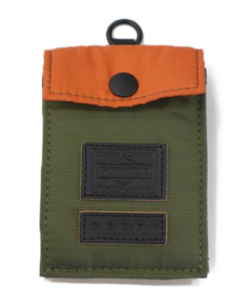PORTER×MARNI(ポーター×マルニ)PORTER×MARNI (ポーター×マルニ) カード&コインケース オリーブ CARD AND COIN 16CBの古着・服飾アイテム