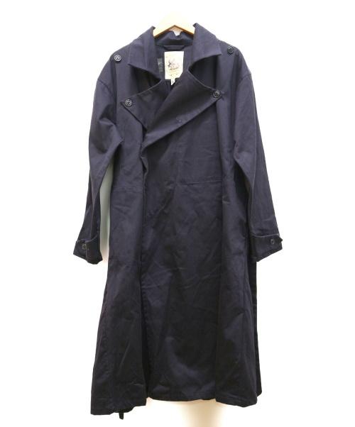 MONITALY(モニタリー)MONITALY (モニタリー) モーターサイクルコート ネイビー サイズ:38 VANCLOTH & SONSの古着・服飾アイテム