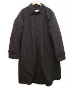 ()の古着「ナイロンステンカラー2WAYコート」|ブラック