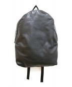 ()の古着「スタッズスカル バックパック」|ブラック