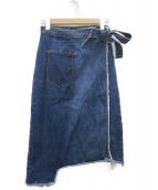 Ameri(アメリ)の古着「リメイクデニムスカート」|インディゴ