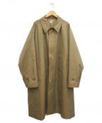 KAPTAIN SUNSHINE(キャプテンサンシャイン)の古着「21SSウォーカーコート」|ベージュ