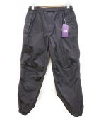 THE NORTHFACE PURPLELABEL(ザノースフェイスパープルレーベル)の古着「Garment Dye Mountain Wind Pant」|ブラック