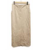 DEUXIEME CLASSE(ドゥーズィエム クラス)の古着「エレガントタイトスカート」|ベージュ