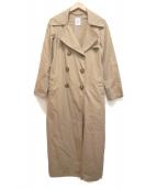 DEUXIEME CLASSE(ドゥーズィエム クラス)の古着「ロングトレンチコート」|ベージュ