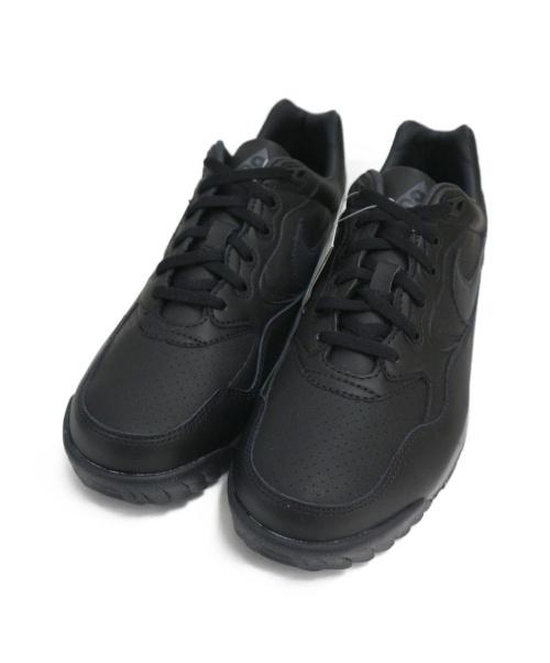 NIKE ACG(ナイキエージーシー)NIKE ACG (ナイキエージーシー) ローカットスニーカー ブラック サイズ:US10.5 未使用品 AIR WILDWOOD ACG AO3116-003の古着・服飾アイテム