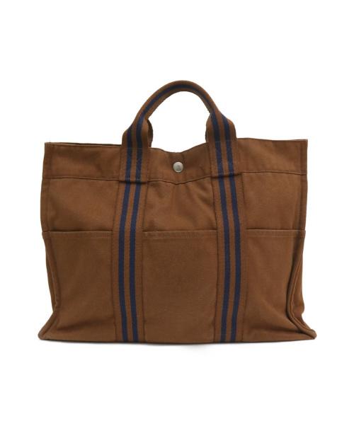 HERMES(エルメス)HERMES (エルメス) ハンドバッグ ブラウン サイズ:MMの古着・服飾アイテム