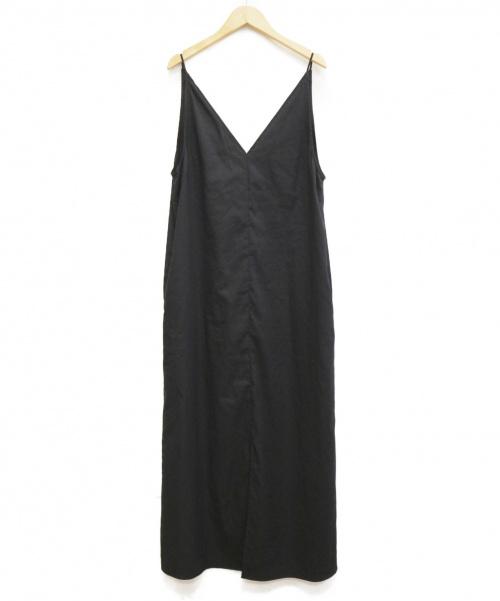 Plage(プラージュ)Plage (プラージュ) OX キャミワンピース ブラック サイズ:38の古着・服飾アイテム