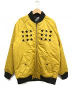 LEFLAH(レフラー)の古着「中綿ブルゾン」|イエロー
