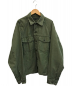 AP STUDIO(エーピーストゥディオ)の古着「オーバーサイズミリタリージャケット」|カーキ