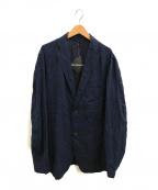ISSEY MIYAKE MEN()の古着「リネン混ジャケット」|ネイビー