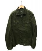 C.P COMPANY(シーピーカンパニー)の古着「ジップジャケット」|カーキ
