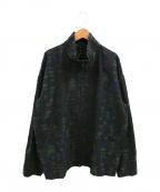 ISSEY MIYAKE MEN(イッセイミヤケメン)の古着「スイングトップ」|ブラック