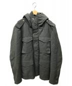 C.P COMPANY(シーピーカンパニー)の古着「中綿ウールジャケット」 グレー