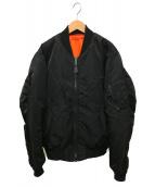 AVIREX(アヴィレックス)の古着「MA-1ジャケット」|ブラック