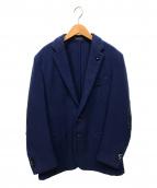 LARDINI(ラルディーニ)の古着「ウールテーラードジャケット」|ブルー