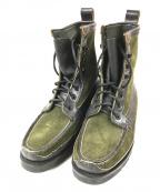 YUKETEN(ユケテン)の古着「ブーツ」|カーキ