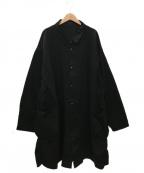 Porter Classic()の古着「CHINO SHIRT COAT」|ブラック