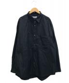 ()の古着「Broad L/S Oversized Regular Co」 ブラック