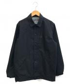 GOOD ENOUGH(グッドイナフ)の古着「レイニーコーチジャケット」 ブラック