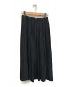 JOURNAL STANDARD Lessage(ジャーナルスタンダード レサージュ)の古着「スリットマキシスカート」|ブラック