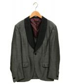Brilla per il gusto(ブリッラ ペル イルグースト)の古着「シャークスキン ディナージャケット」|グレー