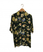 WAREHOUSE(ウェアハウス)の古着「アロハシャツ」|グリーン