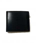GANZO(ガンゾ)の古着「小銭入れ付き二つ折り財布」 ネイビー