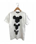 ()の古着「プリントTシャツ」 ホワイト