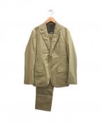 J.PRESS(ジェイプレス)の古着「マナードコットンソラーロセットアップスーツ」|ベージュ