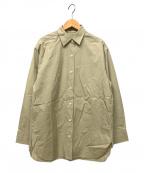 DEUXIEME CLASSE()の古着「washer シャツ」|ベージュ