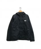 HELLY HANSEN()の古着「スカンザライトジャケット」 ブラック
