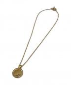 philippe audibert(フィリップオーディベール)の古着「メダルネックレス」 ゴールド