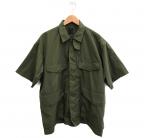 DAIWA PIER39(ダイワ ピアサーティンナイン)の古着「Tech French Mil Field Shirt」 カーキ
