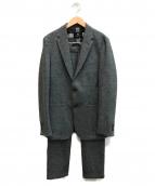 BLACK LABEL CRESTBRIDGE(ブラックレーベルクレストブリッジ)の古着「セットアップウールスーツ」|グレー