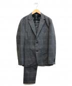 BLACK LABEL CRESTBRIDGE(ブラックレーベルクレストブリッジ)の古着「セットアップスーツ」|グレー