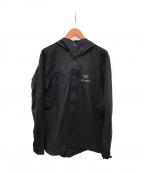 ARCTERYX()の古着「スコーミッシュフーディ」|ブラック