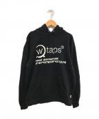 WTAPS()の古着「プルオーバーパーカー」|ブラック
