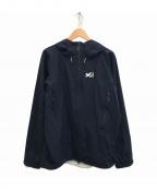 MILLET(ミレー)の古着「ティフォン50000ストレッチ ジャケット」 ブラック