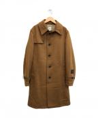 TAKEO KIKUCHI(タケオキクチ)の古着「シングル トレンチコート」 ブラウン