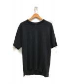 ()の古着「リネンニット」|ブラック